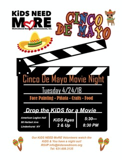 Cinco De Mayo Movie Night Volunteer Sign Up