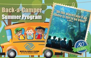 Back-a-Camper Summer Program Support