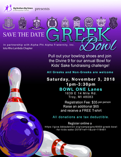 Greek Bowl For Kids' Sake 2018
