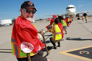 UPS Plane Pull for United Way
