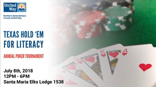 Texas Hold 'Em for Literacy