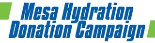 Mesa Hydration  Donation Campaign