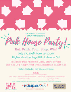 Pink House Party at Homearama