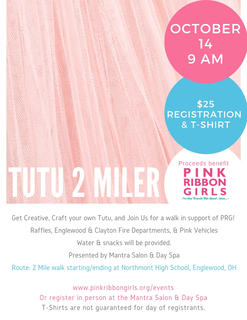 Mantra Salon Tutu Two-Miler Walk