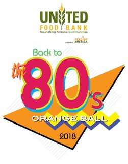 Back to the 80's Orange Ball