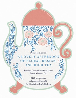 A Lovely Afternoon of Floral Design and High Tea