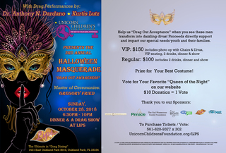 3rd Annual Halloween Masquerade