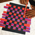 Family First: Paper Weaving