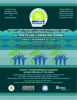 """Habitat Young Professionals """"Ultimate Ugly Sweater Soiree"""""""