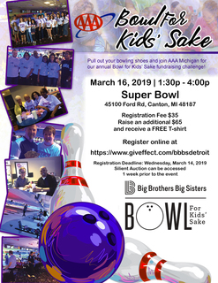 AAA & Meemic Bowl For Kids' Sake 2019