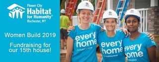 Women Build 2019 - Fundraising for our 15th house!