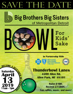 2019 Bowl for Kids' Sake BCBSM/BCN and UAW