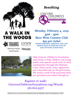 3rd Annual Walk in the Woods