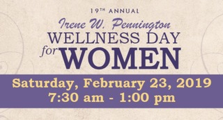 19th Annual Irene W. Pennington Wellness Day for Women