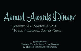 Annual Awards Dinner 2019