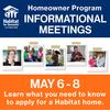 Homeowner Program Informational Meetings