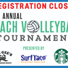 REGISTRATION CLOSED! 15th Annual Beach Volleyball Tournament