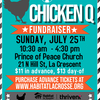 Prince of Peace Church Chicken Q for Habitat