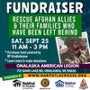 Fundraiser for Afghan Allies & Their Families