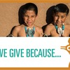 We Give Because...