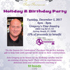 Holiday & Birthday Party