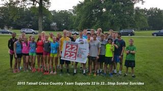 2015 Tatnall Cross Country Team