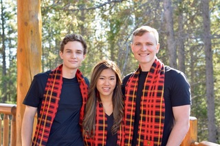 Team Haskayne Finance : Alison, Coleton & Kevin