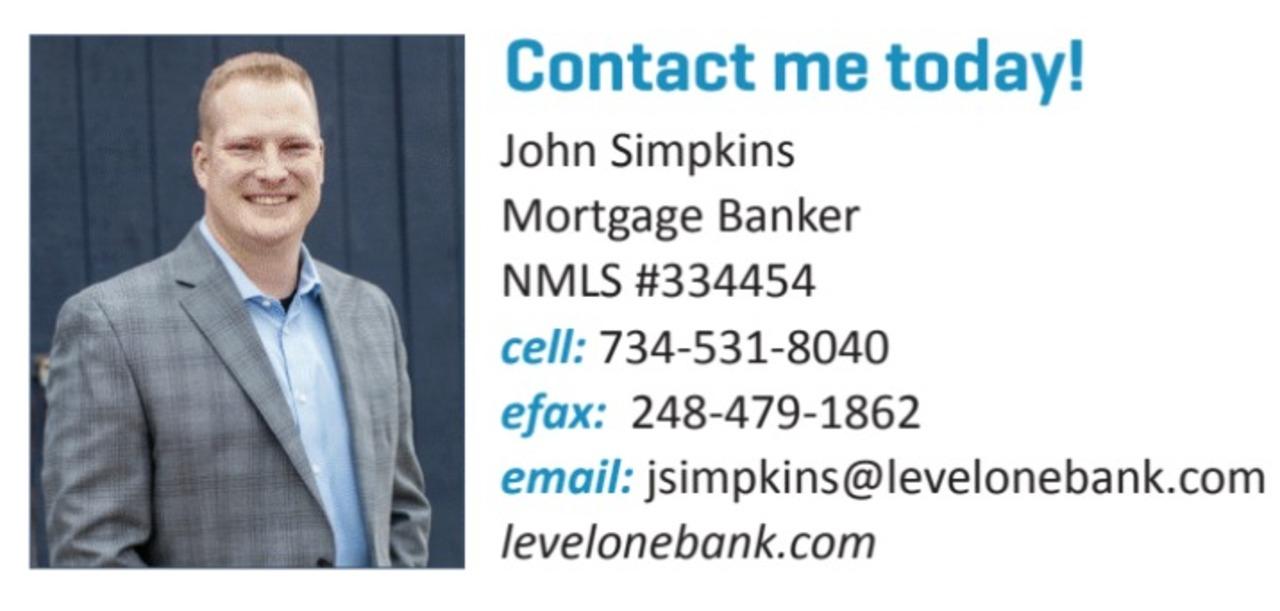 John Simpkins - Level One Bank
