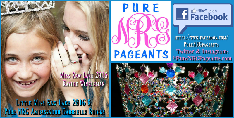 """Pure N.R.G. Pageants  """"Pin Pals"""""""