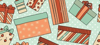 Rhonda's Gift Wrapping fundraiser