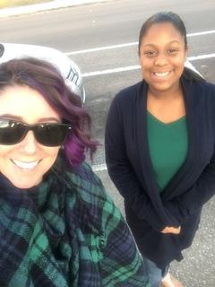 Jessenia and Shana