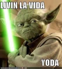 Livin La Vida Yoda