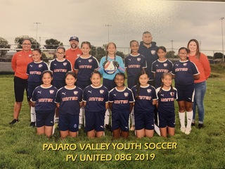 PV United 2008 Girls