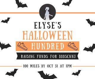Elyse's Halloween Hundred