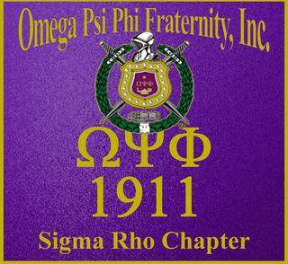 Omega Psi Phi Fraternity, Inc. - Sigma Rho Chapter