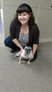 Penny the pug & Michele