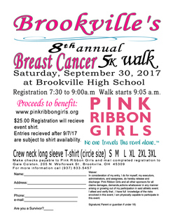 Registration Brookville 5K Walk