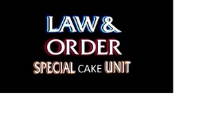 Law & Order Cake
