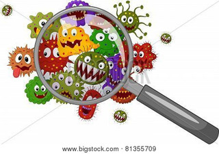 the MIGHTY MICROBES