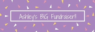 Ashley's BIG Fundraiser!