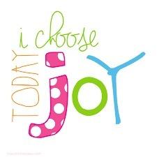 Choosing Joy!