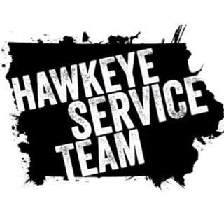 University of Iowa Hawkeye Service Team