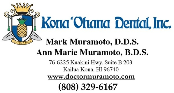 Kona 'Ohana Dental, Mark Muramoto, D.D.S. and Ann Marie Muramoto, B.D.S.