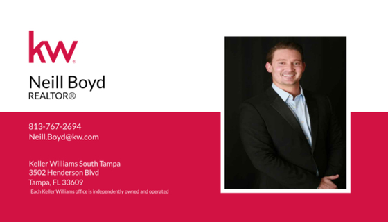 Neill Boyd of Keller Williams Realty