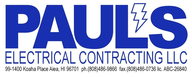 Paul's Electrical Contracting LLC
