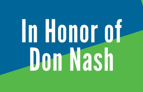 In Memory of Don Nash