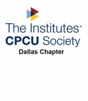 Dallas CPCU Society Chapter