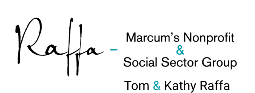 Kathy & Tom Raffa – Raffa/Marcum's Nonprofit & Social Sector Group