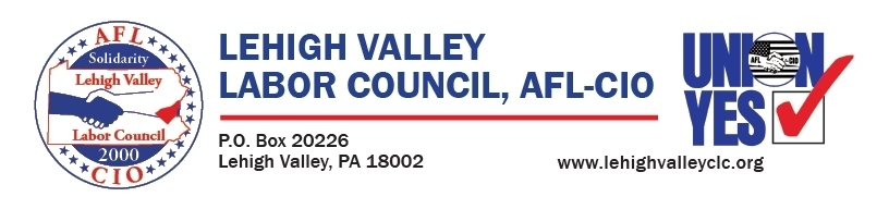 Lehigh Valley Labor Council AFL-CIO