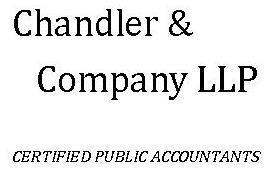 Chandler & Company, LLP Certified Public Accountants